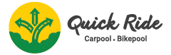 Quick Ride Logo, Carpooling
