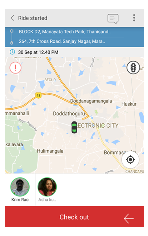 Ride sharing app and car sharing app | How does it work?