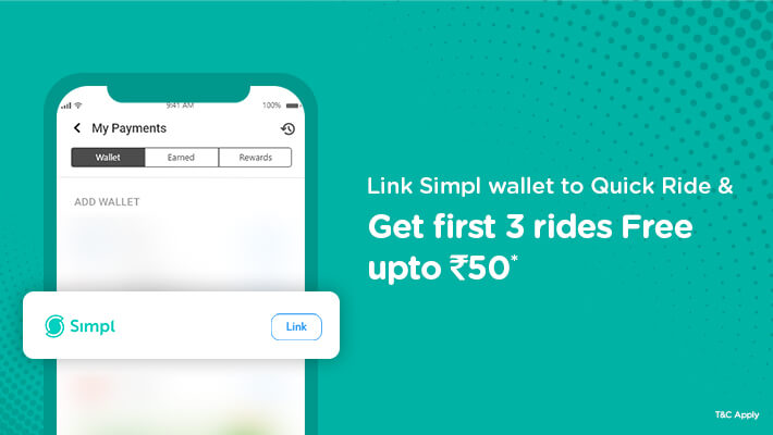 pgo Offer for Quick Ride Users