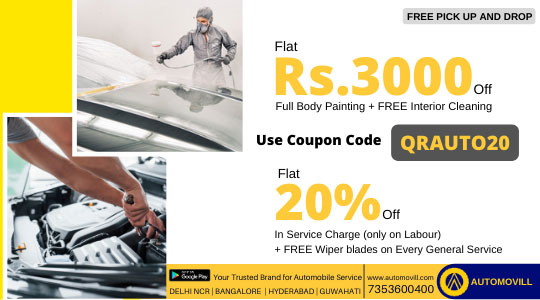 Automovil offer for Quick Ride Users
