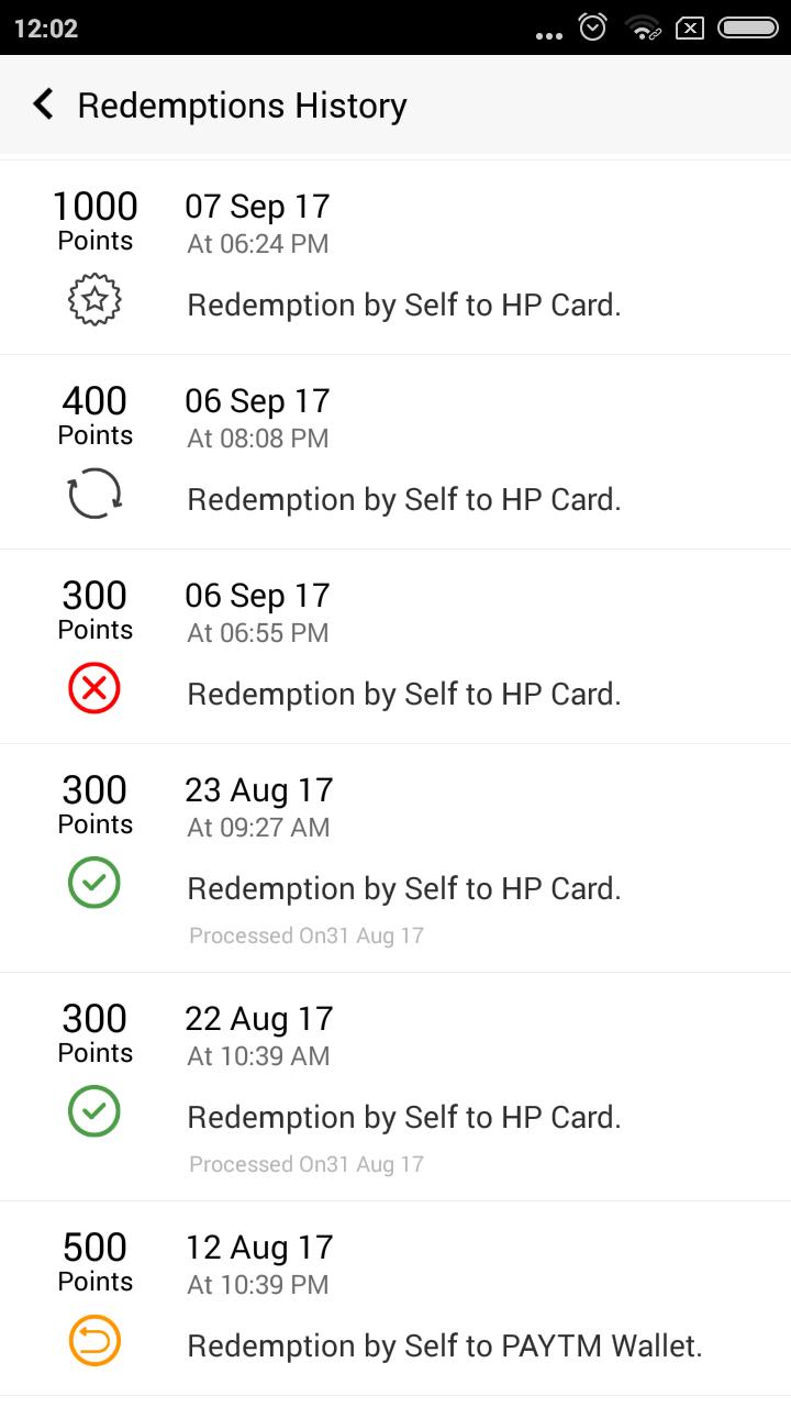 Carpool Money redeeming